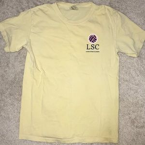 Comfort colors volleyball shirt
